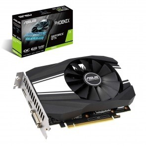 ASUS PH-GTX1660-O6G Phoenix GeForce GTX 1660 6GB 192Bit GDDR5
