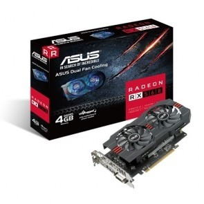 ASUS AREZ-RX560-O4G-EVO DVI HDMI DP 4G DDR5