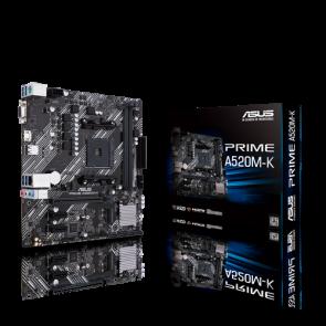 ASUS PRIME A520M-K AM4/A520/2D4/mATX