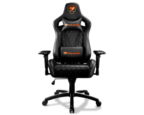 COUGAR 3MASBNXB.0001 ARMOR S Black Gaming Chair
