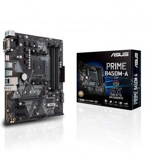 ASUS PRIME B450M-A/CSM AM4/B450/4D4/USB3.1/M2/mATX