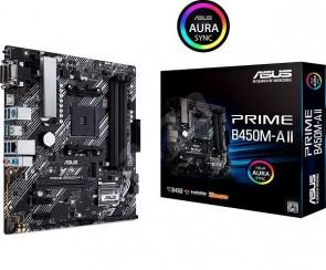 ASUS PRIME B450M-A II AM4/B450/4D4/mATX