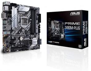 ASUS PRIME Z490M-PLUS S1200/Z490/4D4/mATX